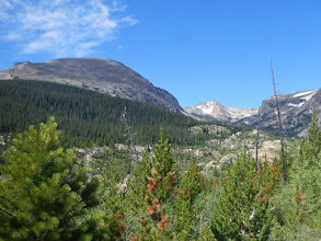 Photo: Copeland Mountain and Ouzel Peak. Photo by Bill Walker