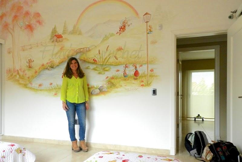 La Pintura Mural, una forma original y personalizada de dar vida a un espacio