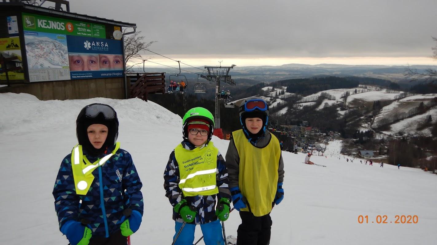 Výprava na lyže