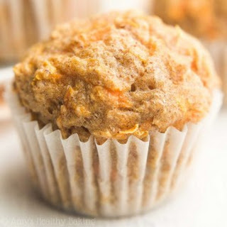 Healthy Carrot Cake Mini Muffins.
