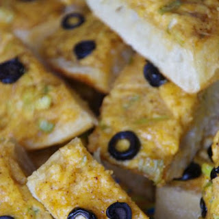 Hot Cheddar Olive Bread Recipe