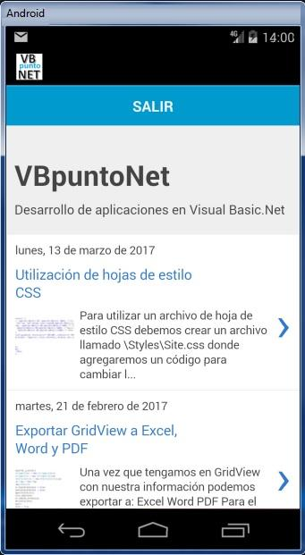 VBpuntoNET- screenshot