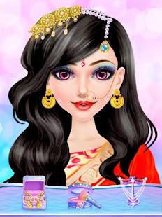 Indian Fashion Girl Makeup Salon - náhled