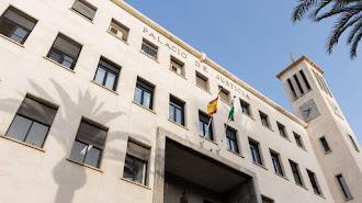Imagen de archivo de la Audiencia Provincial de Almería.