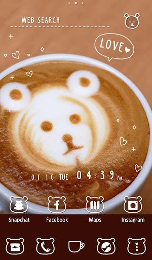 Cute Wallpaper Bear Coffee 1.0.1 Windows u7528 5