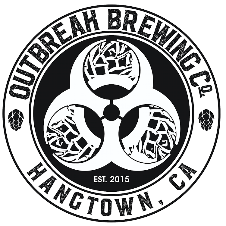 Logo for Outbreak Brewing Company
