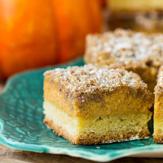 Pumpkin Streusel Bars Recipe