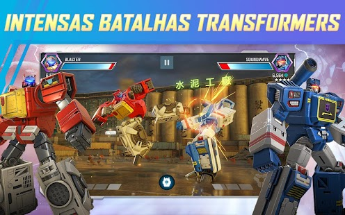 TRANSFORMERS: Lutadores Screenshot