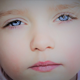 Velvet Eyes by Cheryl Korotky - Babies & Children Child Portraits