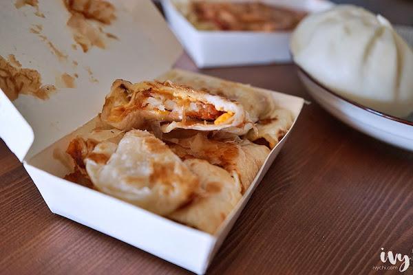 阿如早餐|台中科大學生激推的佛心銅板價早點,必推蛋餅和鐵板麵!