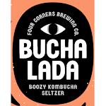 Four Corners Bucha Lada Prickly Pear Ginger