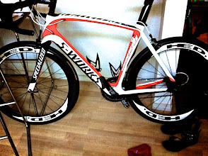 Photo: So begins our Aero Road Bike Project and the first iteration is the S-Works Venge