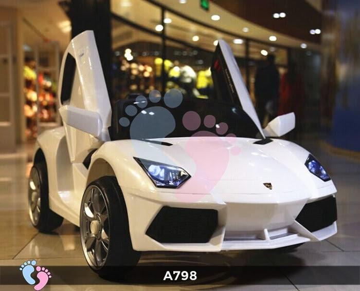 Xe ô tô điện trẻ em Lamborghini A798 9