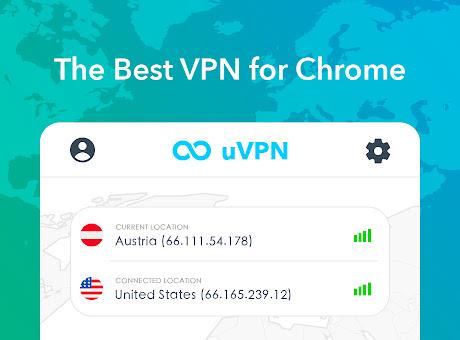 uVPN - free VPN for Chrome