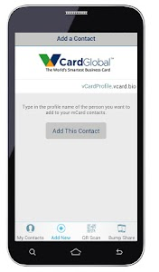 vCard Global Business Card screenshot 4