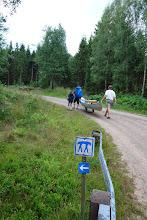 Photo: Overbæring fra Kalvsjön til Svansjöerne