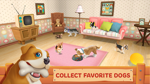 Dog Town: Pet Shop Game, Care & Play with Dog 1.3.14 DreamHackers 1