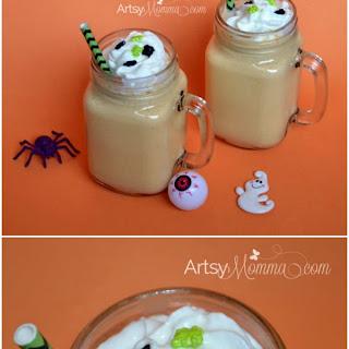 SPOOK-alicious Halloween Smoothie for Kids.