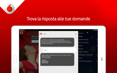 My Vodafone Italia- screenshot thumbnail