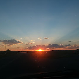 sunset  by Vibecka Olson - Instagram & Mobile Android (  )