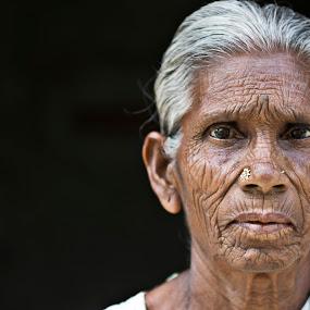 Never ever wrinkle free!!! by Saravanakumar Thangavelu - People Portraits of Women ( faces of india, senior citizen, women portrait, portrait )