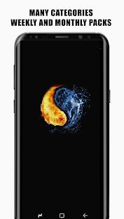 AMOLED 4K PRO Wallpapers Додатки для Android screenshot