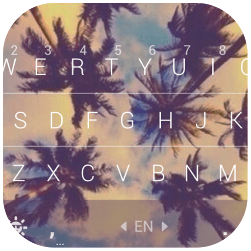 Coconuts Sky Keyboard Theme Icon