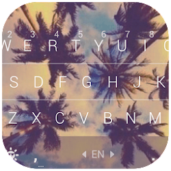 Coconut Keyboard Theme - Delicate,Customizable
