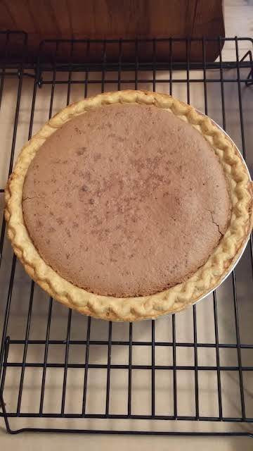Chocolate,Peanutbutter,Fudge Pie