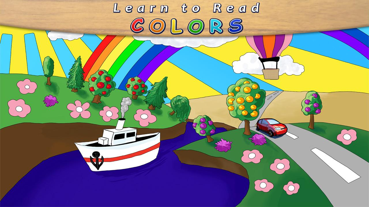 Learn to Read - Colors Free- screenshot