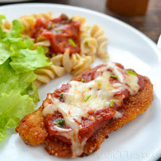 Parmesan Crusted Chicken Breasts.