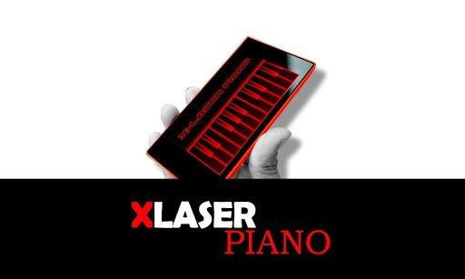 X-Laser Piano Simulated 9 DreamHackers 2