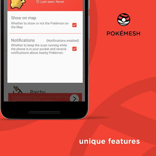 PokéMesh - Real time map