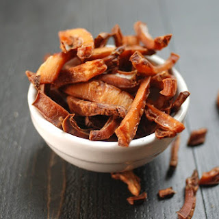 Baked Coconut Chips.