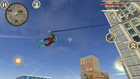 Download Stranger Spider Rope Hero Vice Town Crime For PC Windows and Mac apk screenshot 3