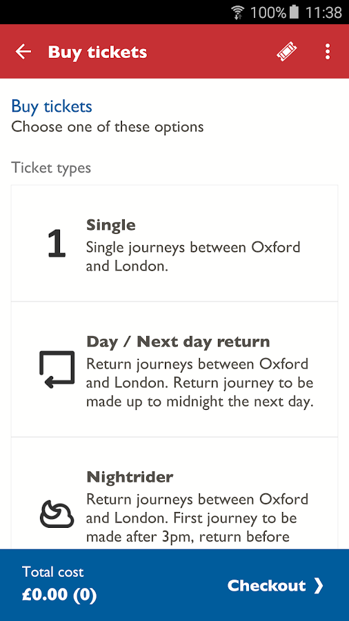 Oxford Tube Mobile Ticket- screenshot