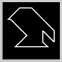 Minimalist Tangram icon