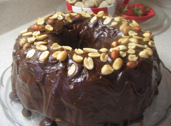 Peanut Butter Cake With Fudge Icing Recipe
