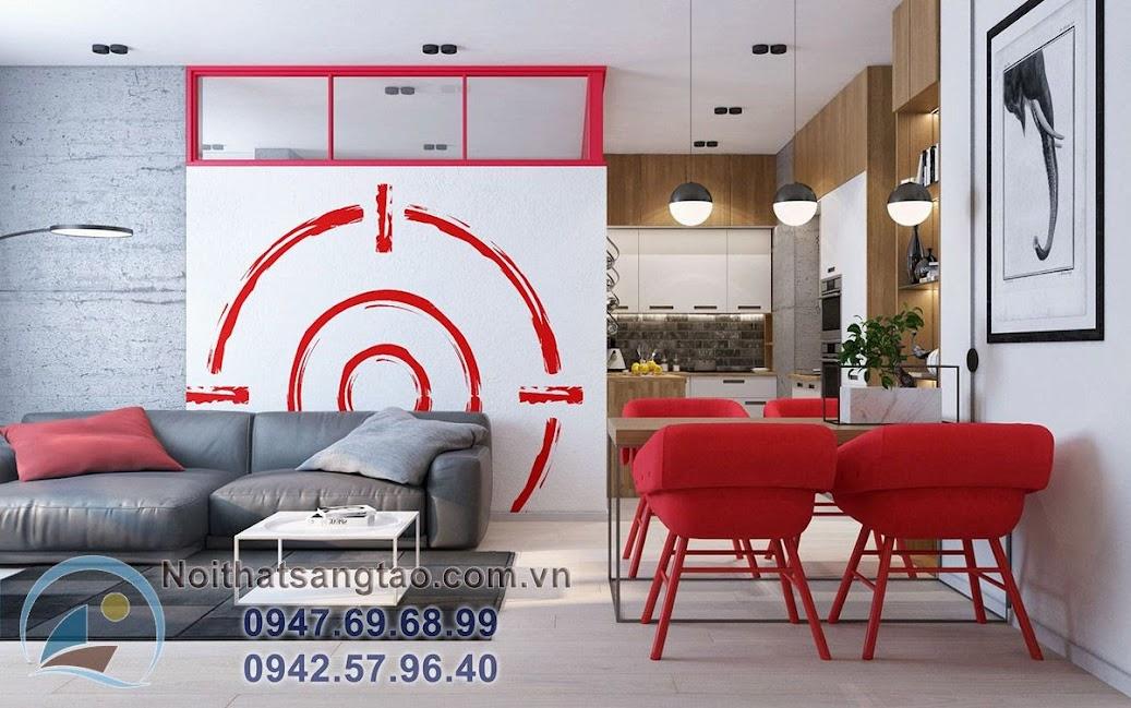 thiết kế nội thất chung cư 90m2 cao cấp
