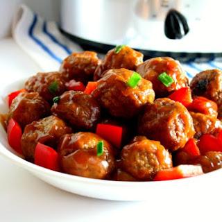 Healthy Sweet And Sour Meatballs Crock Pot Recipes.