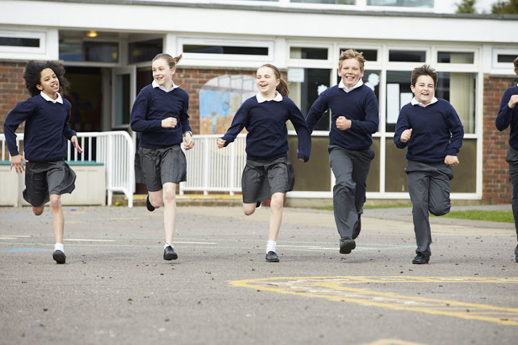 Children should be encouraged to exercise at their own pace during short breaks from class.