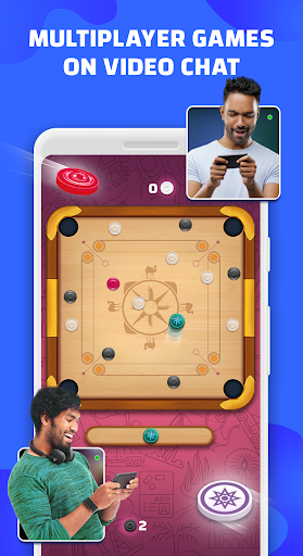 Télécharger Gratuit Hello Play - Live Ludo Carrom games on video chat  APK MOD (Astuce) screenshots 1