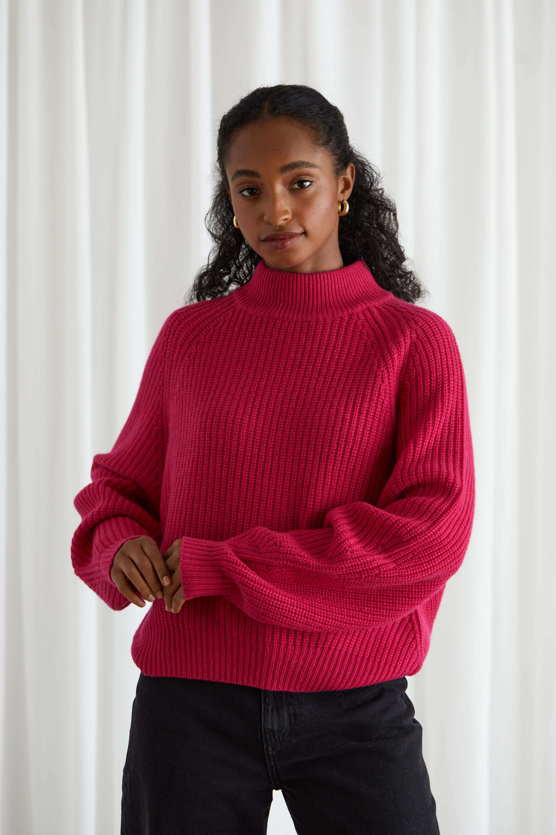 Chunky Structured Rib Sweater