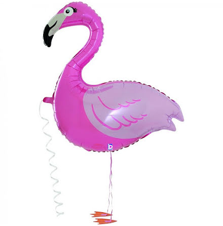 Folieballong - Balloon friends - Flamingo