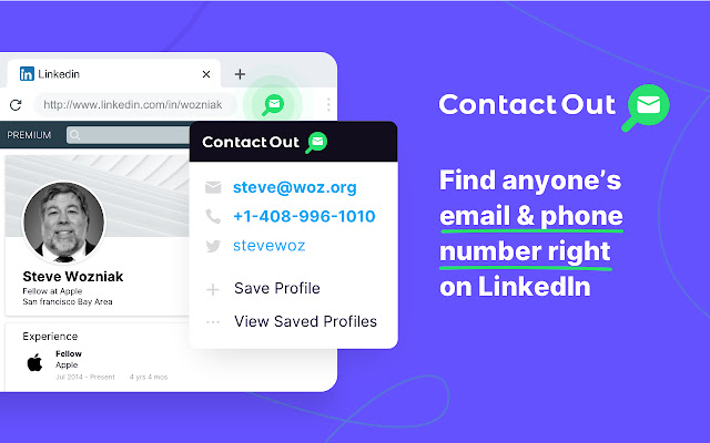Find anyone's email - Contact Out
