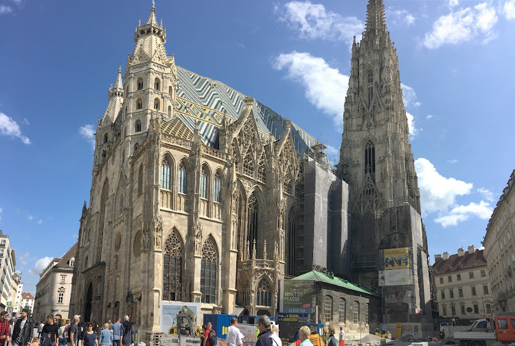 The exterior of St. Stephen's Cathedral (click to enlarge).