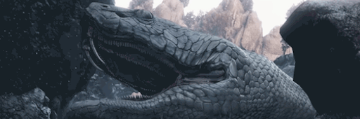 ぬしの白蛇