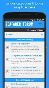 SeaFor - Seafarer Forum - náhled