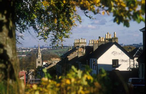 A look at Eaglesham, a quiet village southwest of East Kilbride in East Renfrewshire, Scotland.