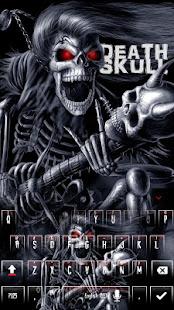 惡魔死亡骷髏鍵盤主題